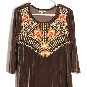 Jodifl tunic (embroidered top) bohemian look